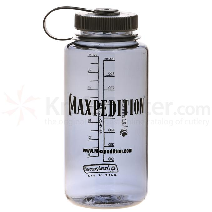 Maxpedition NALG32DG 32 oz. Wide-Mouth Nalgene Bottle, Dark Gray