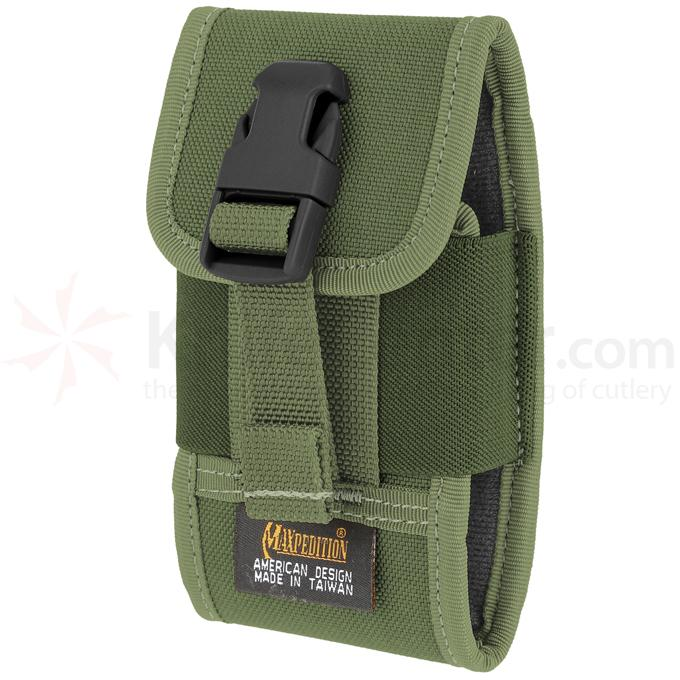 Maxpedition PT1022G Vertical Smart Phone Holster, OD Green