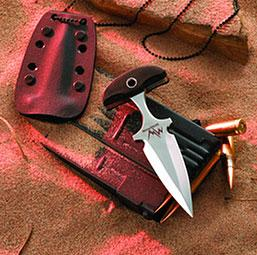 Mercworx Seraphym with 154CM Steel Fixed Blade 5 inch Overall Push Dagger