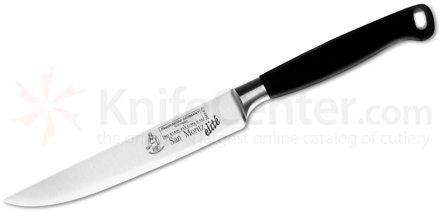 Messermeister San Moritz Elite 4-1/2 inch Multi-Edge Steak Knife