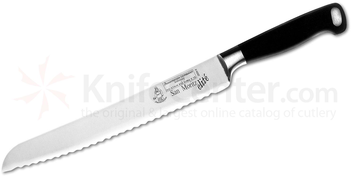 Messermeister San Moritz Elite 9 inch Scalloped Bread Knife