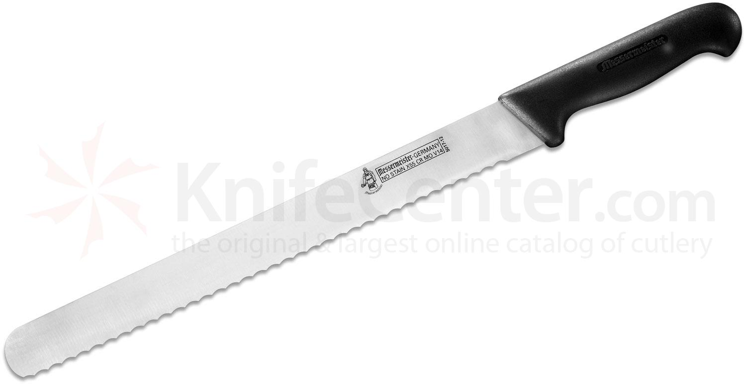 Messermeister Four Seasons 12 inch Round End Scalloped Slicer