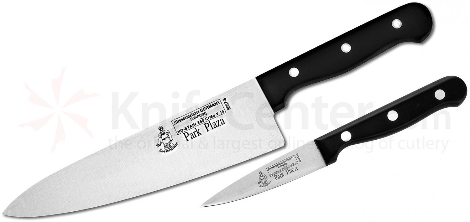 Messermeister Park Plaza 2 Piece Chef Knife and Parer Set