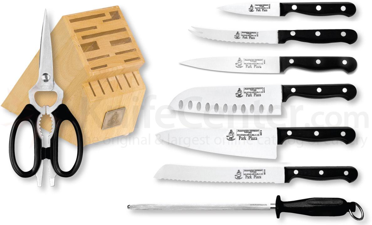 Messermeister Park Plaza 9 Piece Essential Block Set