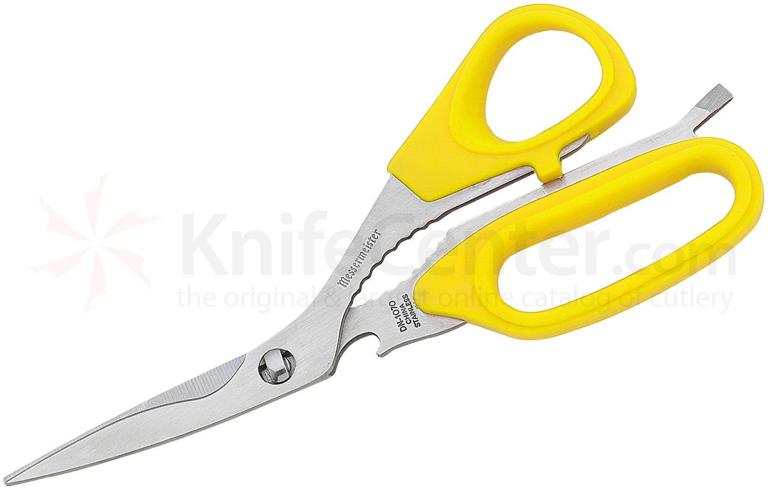 Messermeister 8-1/2 inch Take-Apart Utility Shears, Yellow