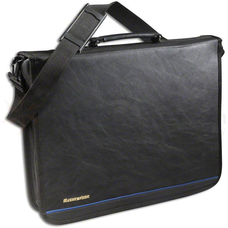Messermeister 22 Pocket Executive Chef's Case, Black