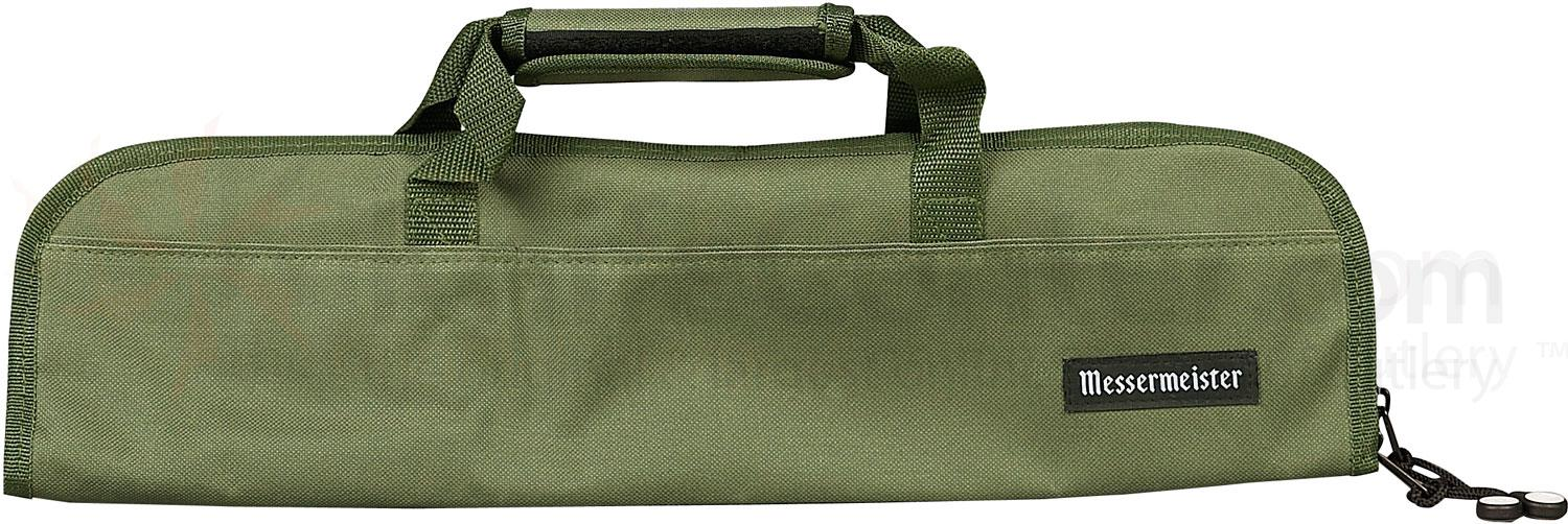 Messermeister 5 Pocket Olive Knife Bag
