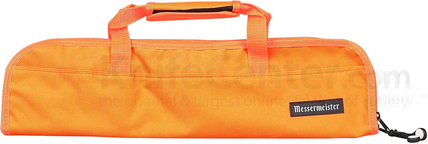 Messermeister 5 Pocket Orange Knife Bag
