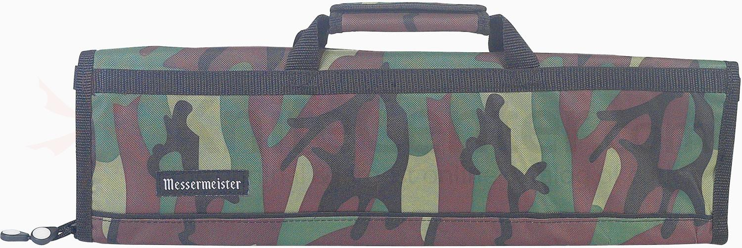 Messermeister 8 Pocket Camouflage Knife Bag