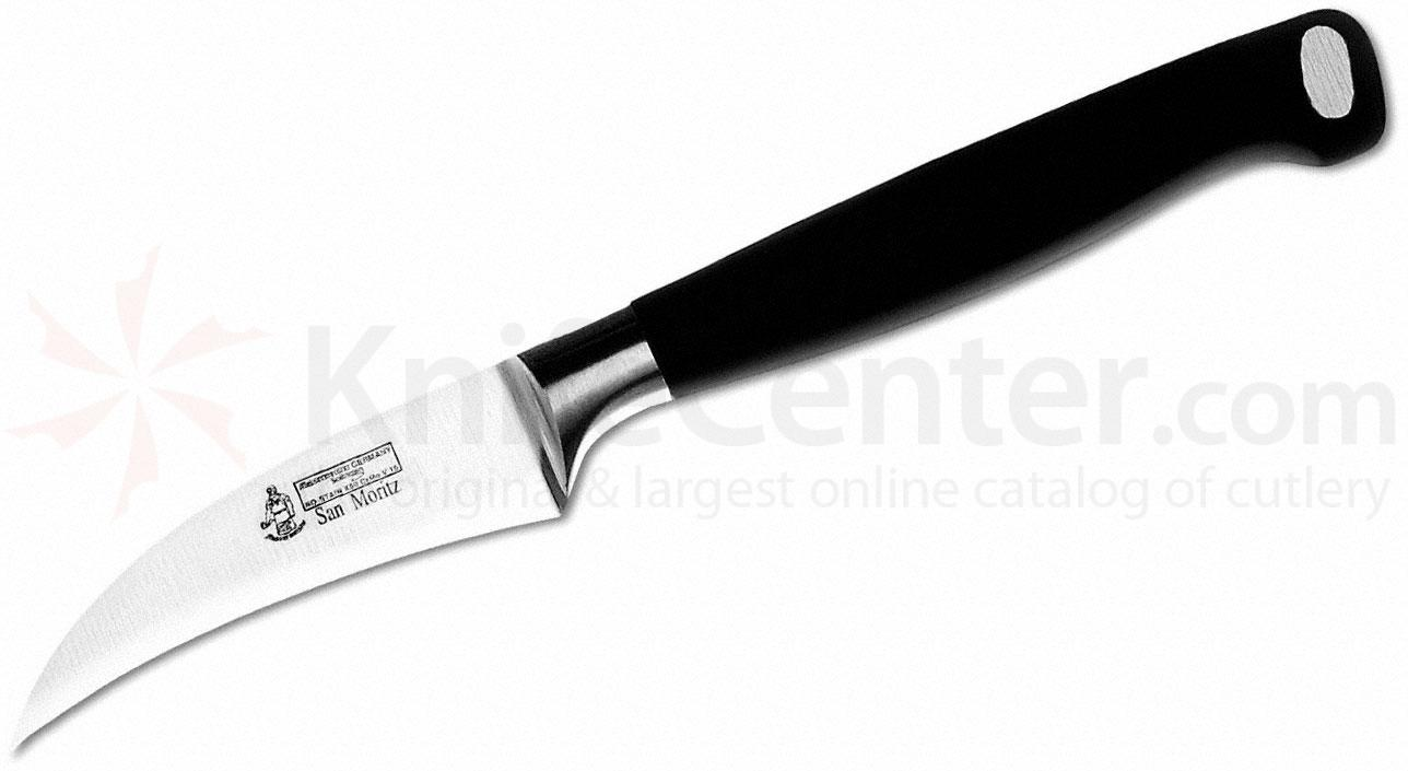Messermeister San Moritz Elite 2-1/2 inch Bird's-Beak Garnishing Knife