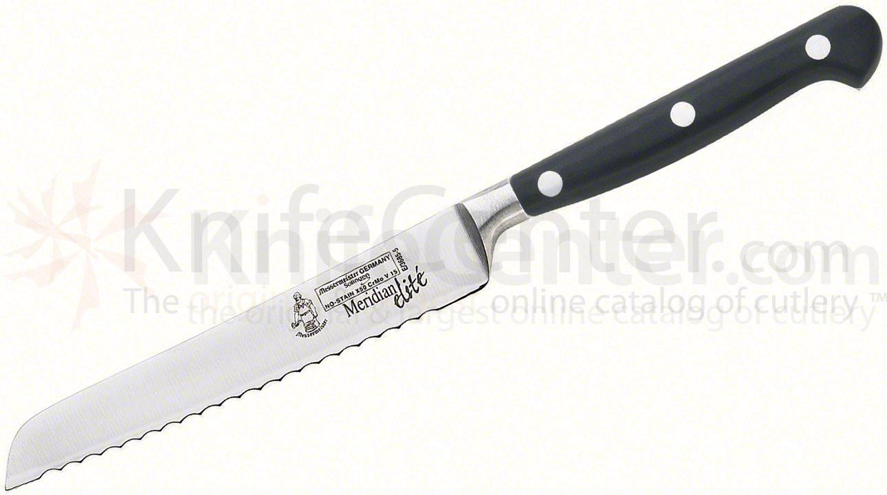 Messermeister Meridian Elite 5 inch Scalloped Utility Knife