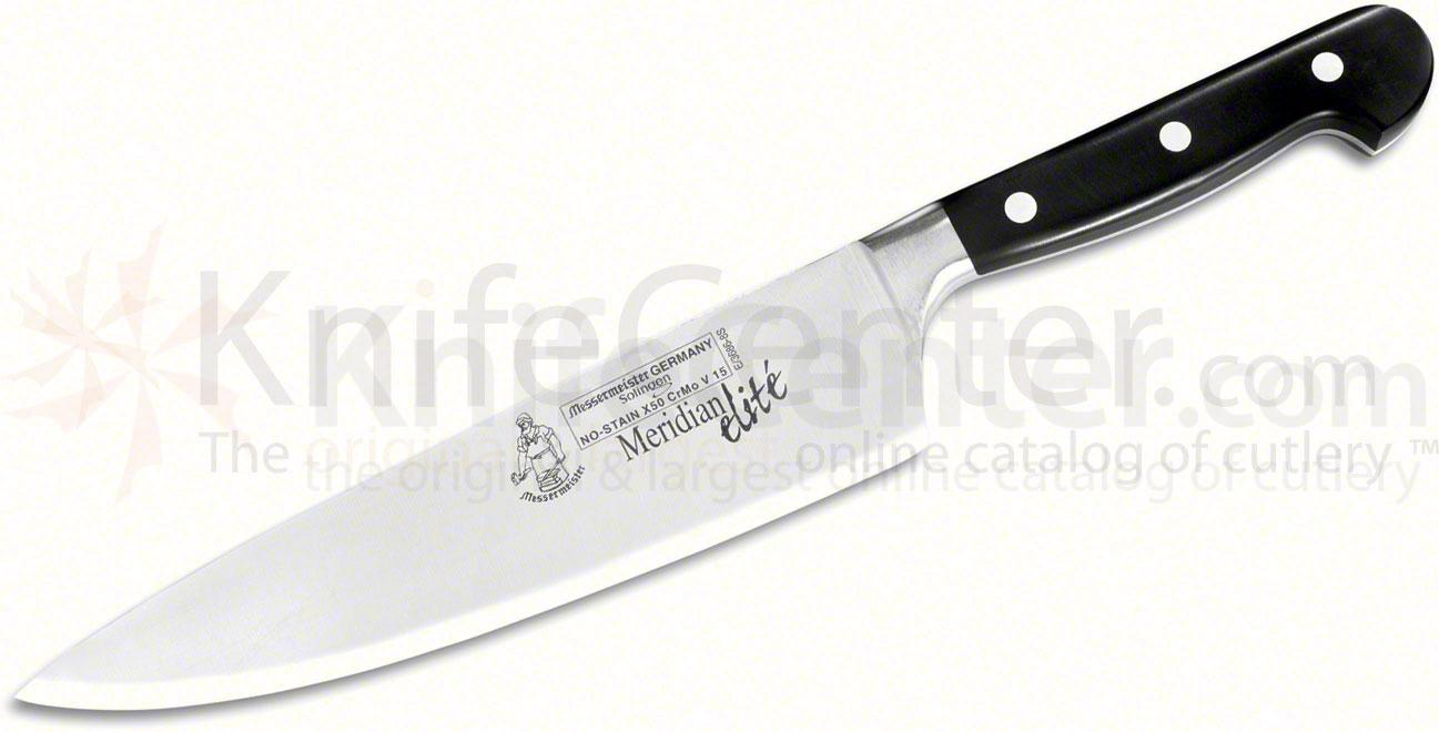 Messermeister Meridian Elite 8 inch Stealth Chef's Knife