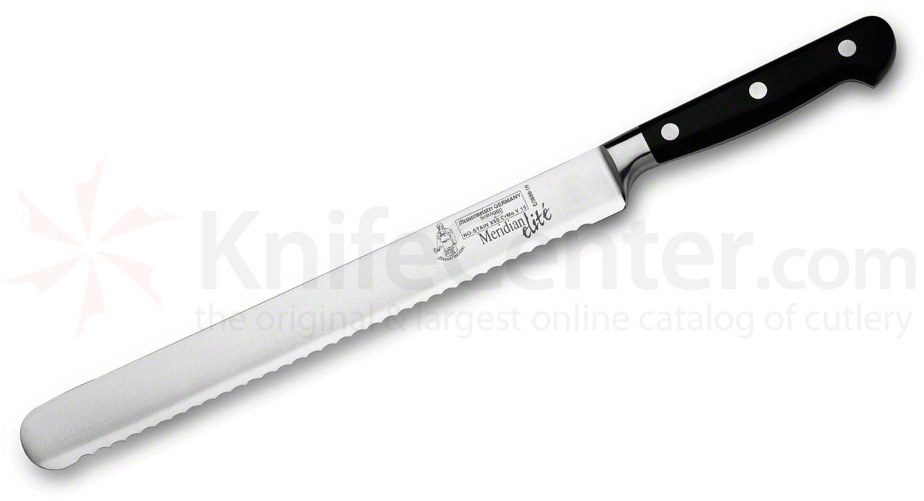 Messermeister Meridian Elite 10 inch Scalloped Bread Knife