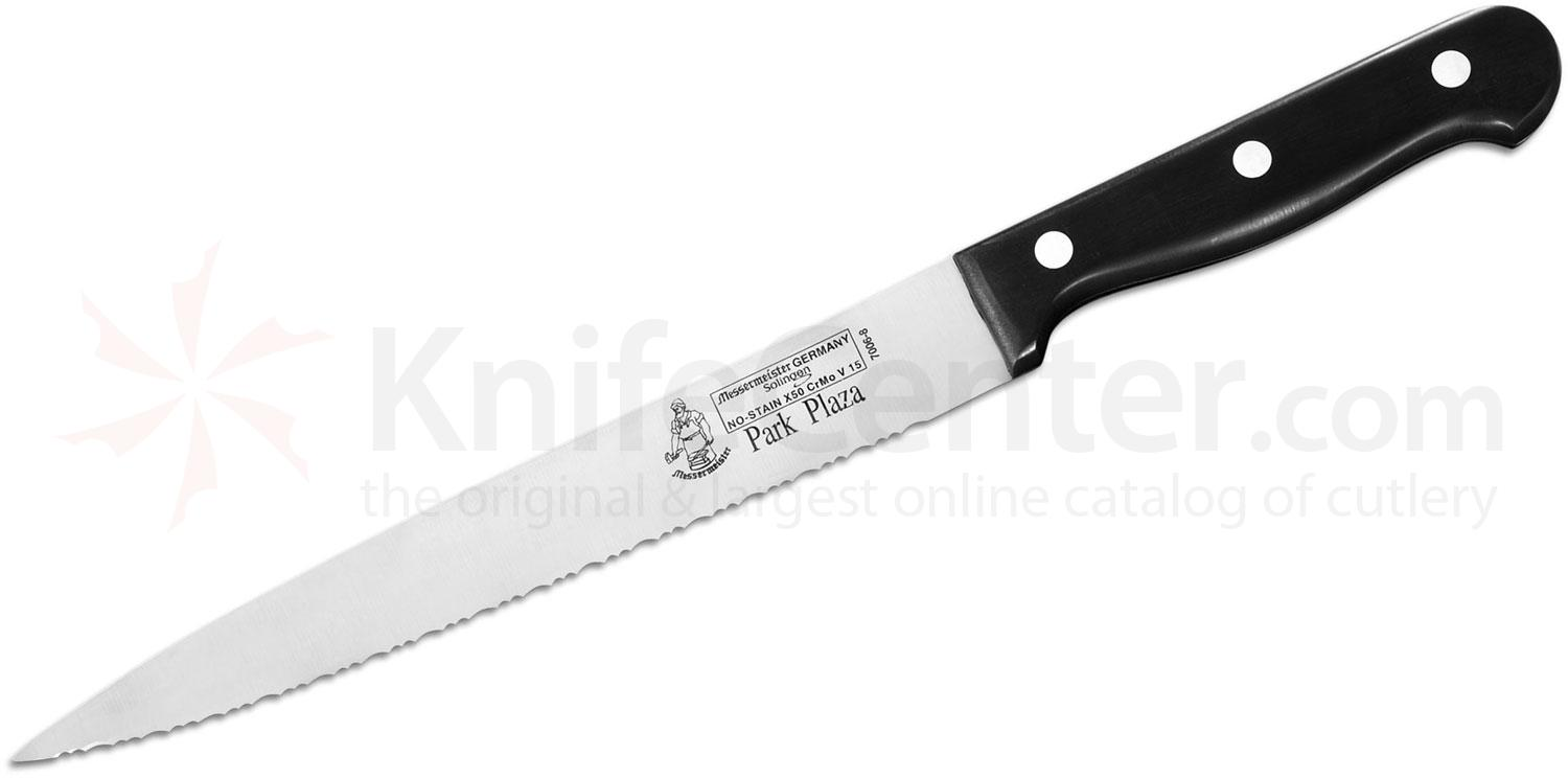 Messermeister Park Plaza 8 inch Serrated Carving Knife