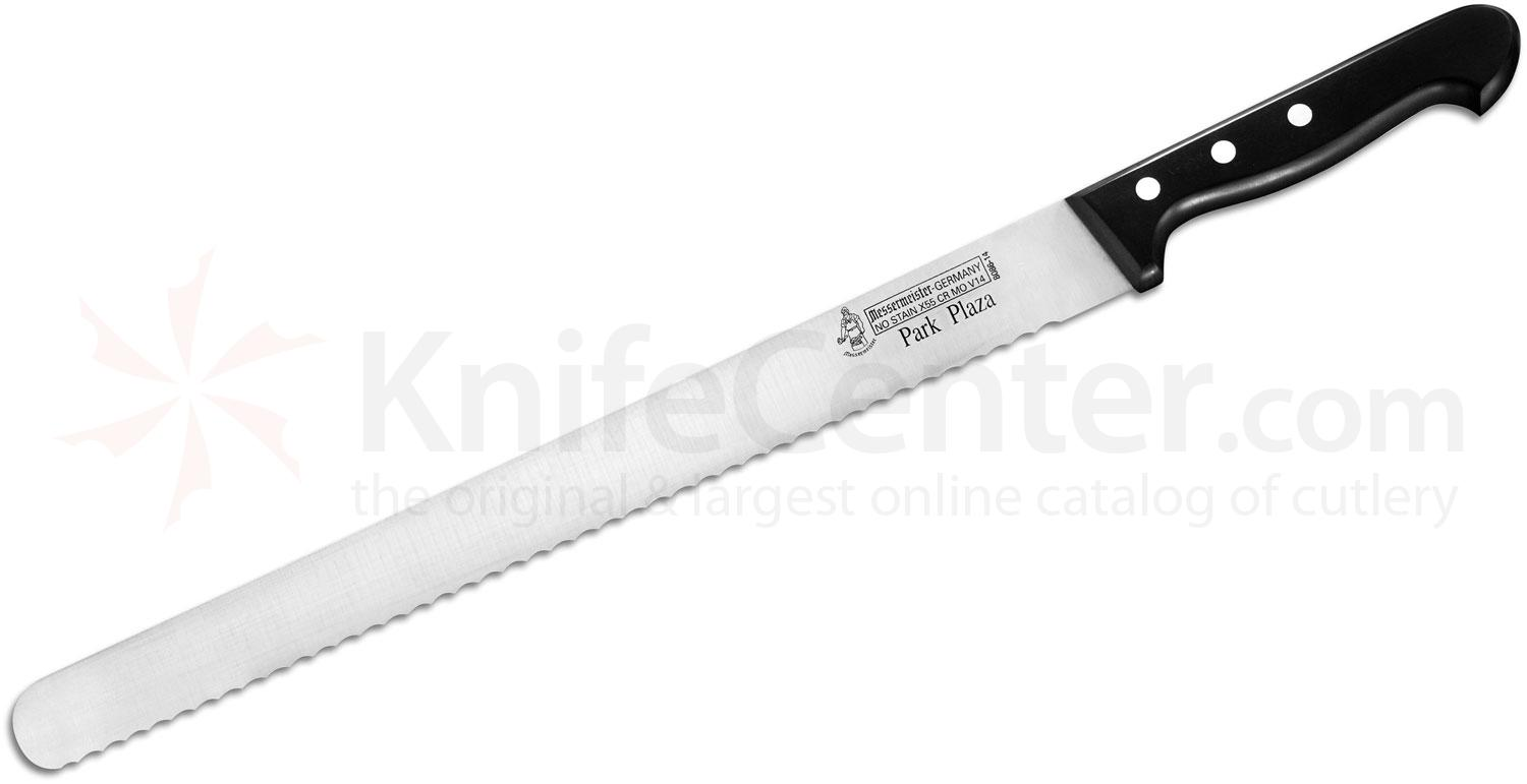 Messermeister Park Plaza 14 inch Scalloped Baker's Pallet Knife with Round End