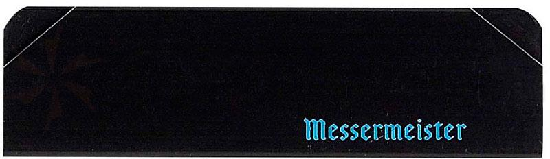 Messermeister 6 inch Chef's Edge Guard, Black