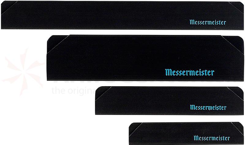 Messermeister 4 Piece Edge Guard Set, Black