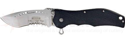 Meyerco Darrel Ralph Maxx-Q Tactical Assisted 3-1/4 inch Satin Combo Blade