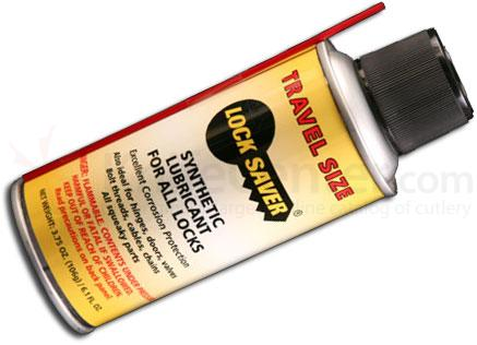 Mil-Comm Lock Saver Travel Size Aerosol, 6.1 fl. oz. Spray Can