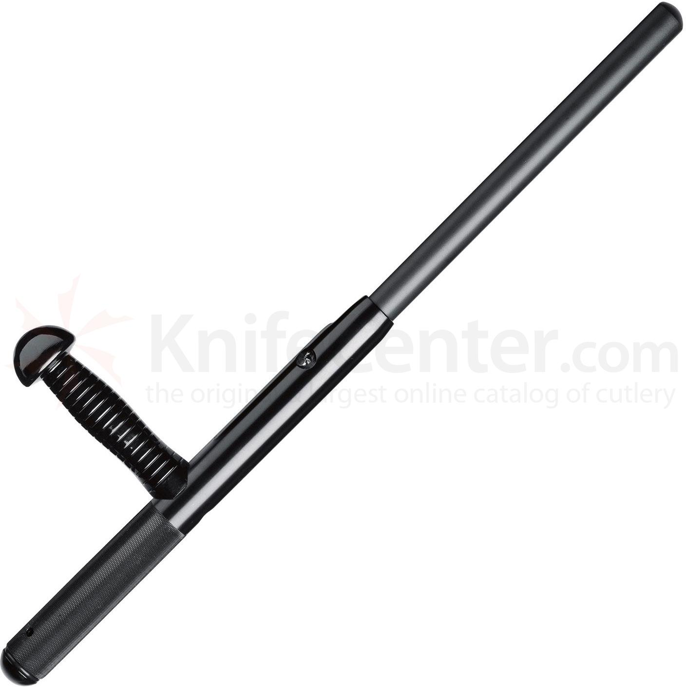 Monadnock PR-24 Expandable Side-Handle 24 inch Baton, Knurled Grip, Black
