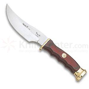 Muela Wood Handled Skinner w/Brass Guard