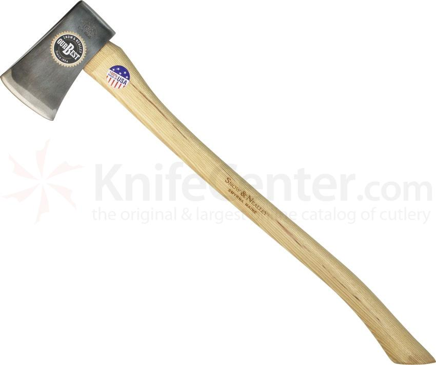 Snow & Nealley Our Best Single Bit Axe 27.5 inch Overall, 3.3 Pounds