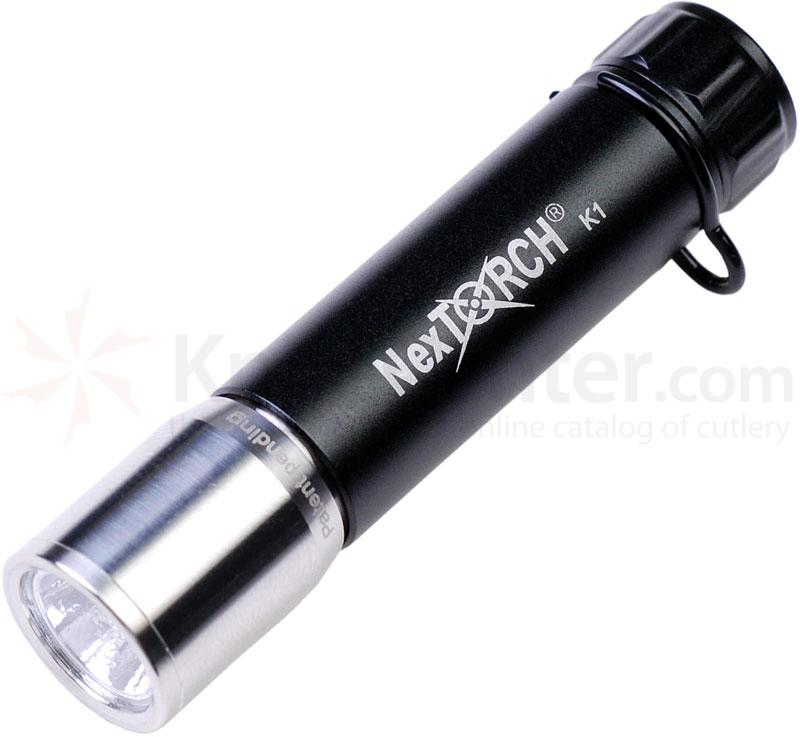 NexTORCH K1 LED Flashlight w/ S-Biner 15 Lumens