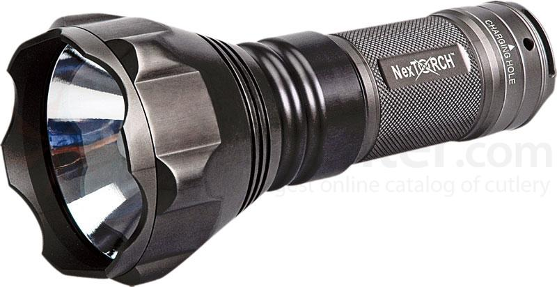 NexTORCH Saint Torch HID Rechargeable Flashlight 450 Lumens