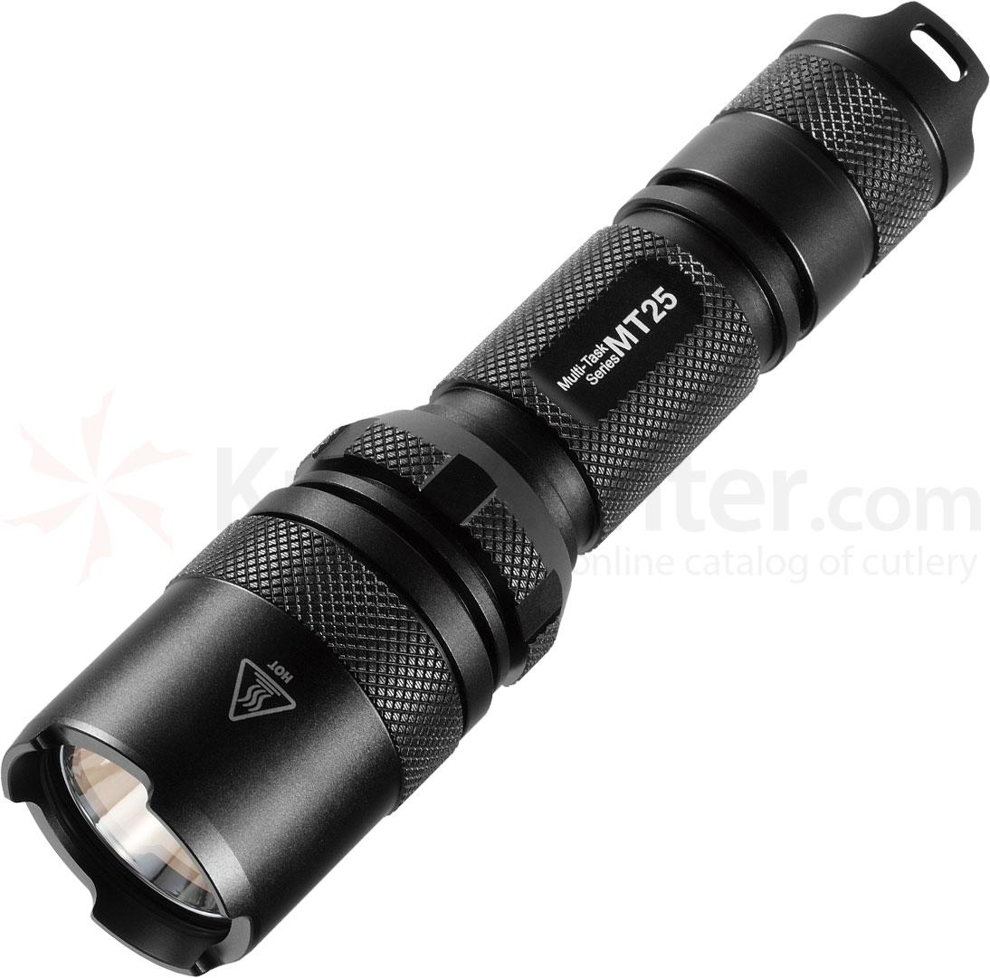 NITECORE Multi-Task MT25 CR123A LED Flashlight, 390 Max Lumens