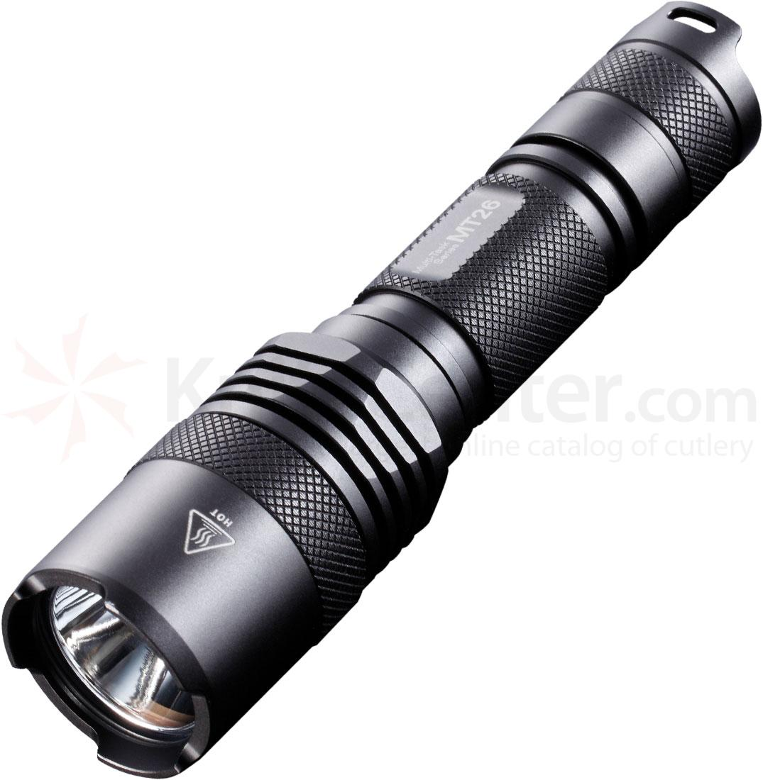 NITECORE Multi-Task MT26 CR123A LED Flashlight, 800 Max Lumens