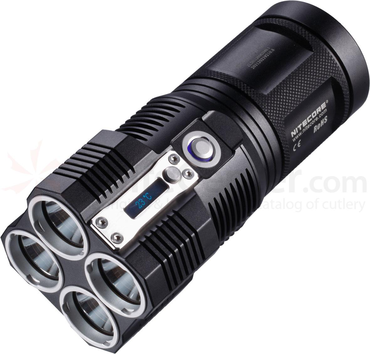NITECORE TM26 Tiny Monster Series Rechargeable CR123A LED Flashlight, 3500 Max Lumens