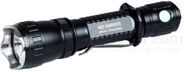 Olight M20 Warrior Cree XP-G2 R5 LED Tactical Flashlight, 420 Max Lumens, Special Operations Hunting Set (2 x CR123A or 1 X 18650)