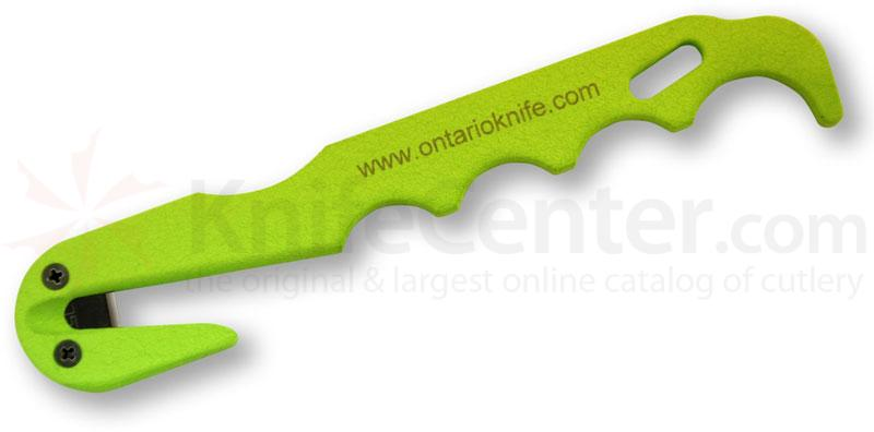 Ontario Rescue Hook Econo-Model Strap Cutter with Sheath
