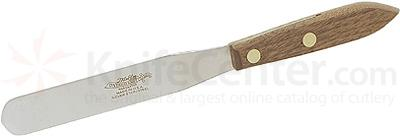 Ontario Spatula Hardwood Handles Stainless 4 inch Long x 19/32 inch Wide