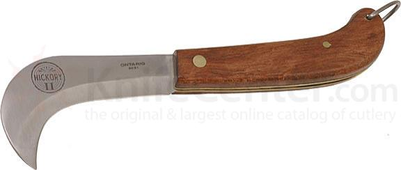 Ontario Hickory II Large 3.4 inch Curved Blade Fruit & Vegetable Knife