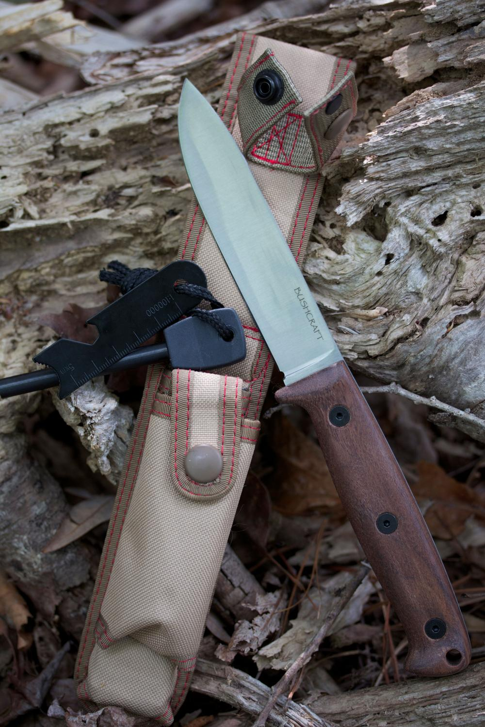 Ontario Bushcraft Field Knife Fixed 5 Quot 5160 Carbon Blade
