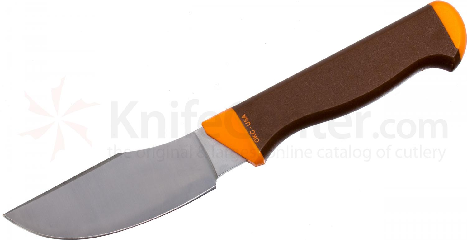 Ontario Keuka Hunting Knife 9 inch Overall, Genuine Leather Sheath