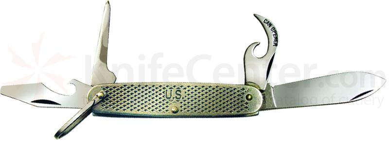 Ontario Steel Camp Knife Multi-Tool 3.625 inch Closed