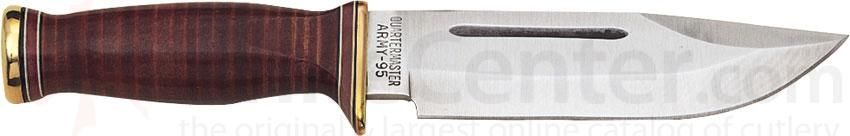 Ontario 6310 P3 US Army Quartermaster Knife 6 inch Blade