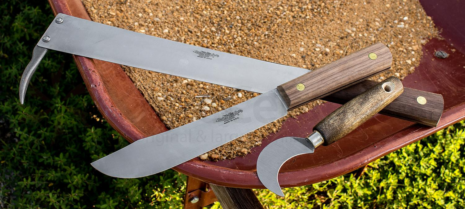 ontario old hickory hop field knife 7