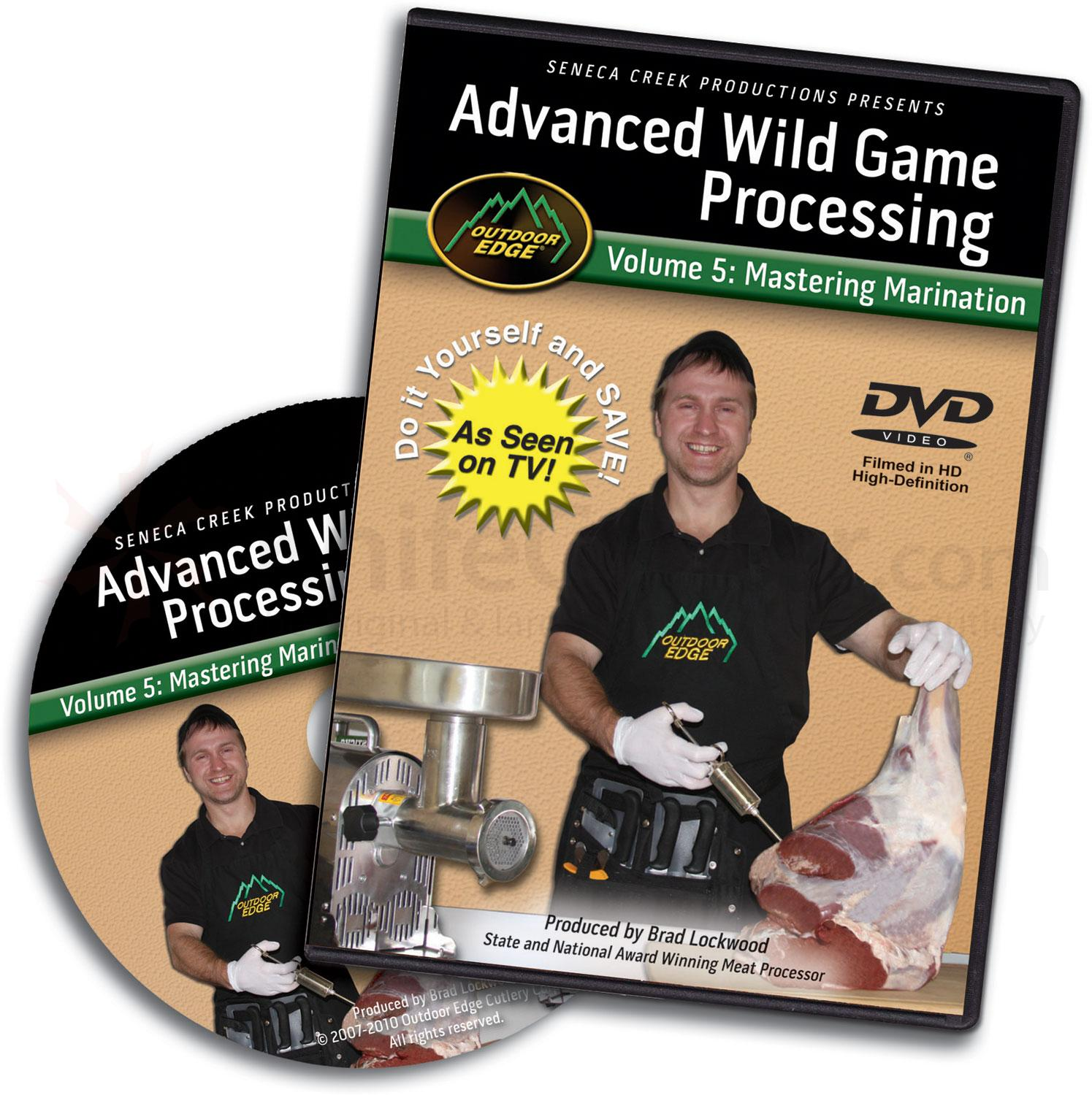 Outdoor Edge DVD Volume 5: Advanced Wild Game Processing, Mastering Marination