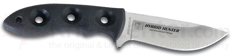 Outdoor Edge Hybrid Hunter Fixed Blade 8-1/4 inch Overall