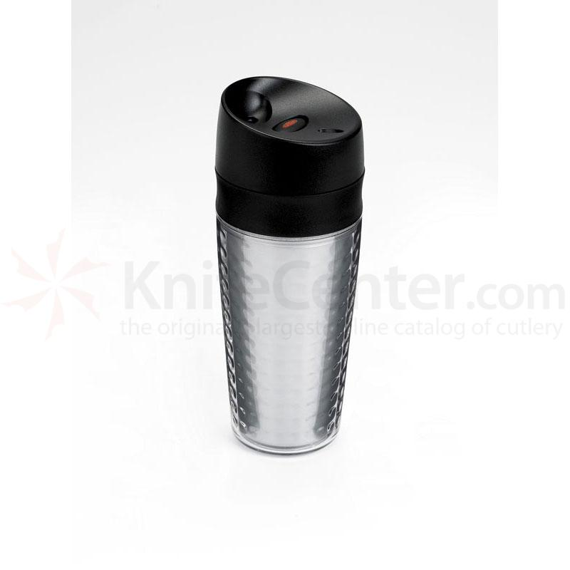 OXO Good Grips Liquiseal Travel Mug - Plastic (Textured) - Clear