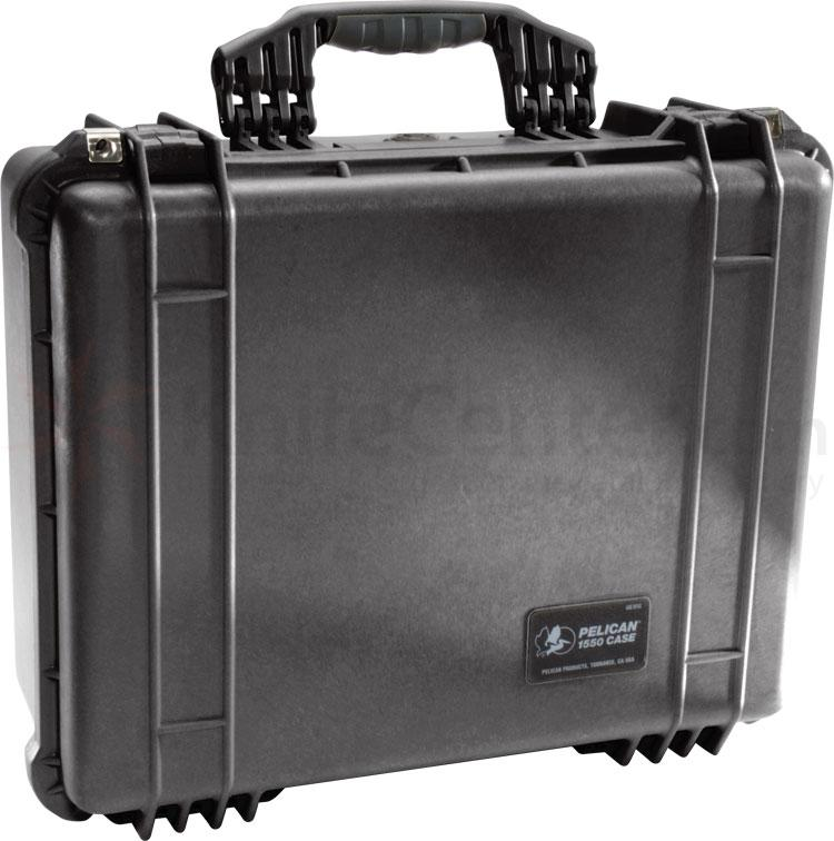 Pelican 1550 Case with Foam, Black