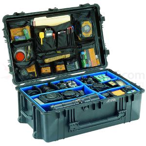 The Pelican 1650 Case 31 1/2 in. L x 20 3/4 in. W x 11 1/2 in. D.