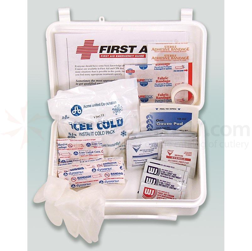 PhysiciansCare Brand Small Office First Aid Kit: 5 Person, 50 Pieces