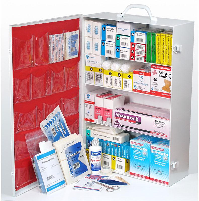 PhysiciansCare Brand Industrial First Aid Kit: 100 Person,  940 Pcs.