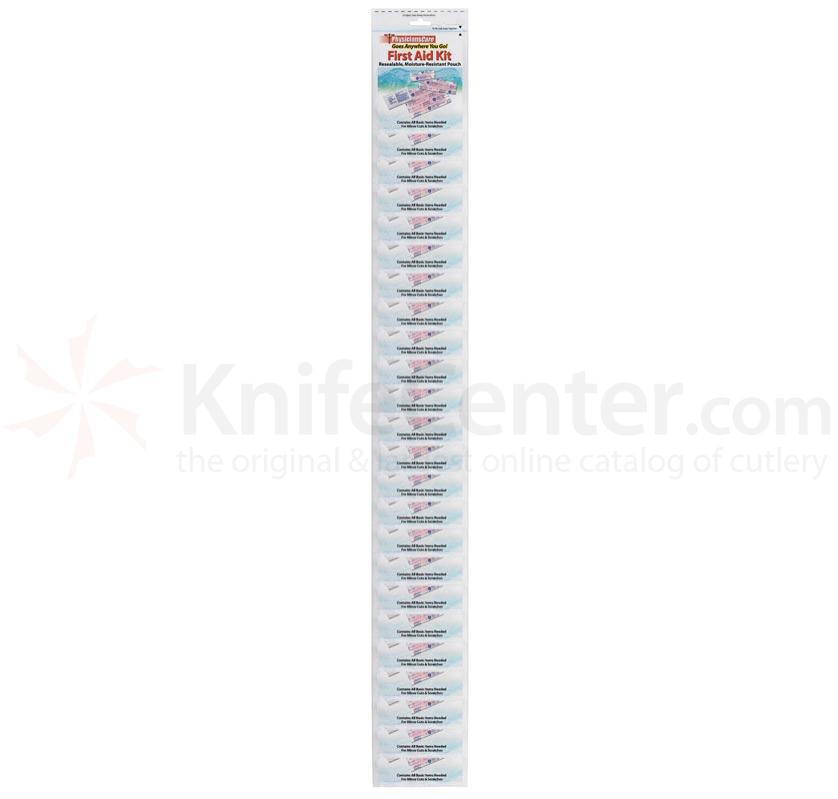 Clip strip 24 pc. PhysiciansCare First Aid Pouch #90004