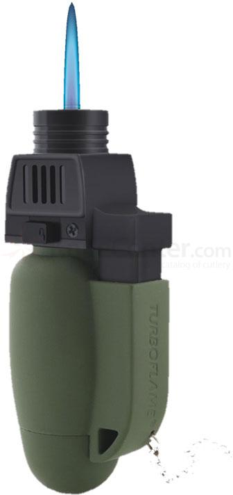 Turboflame Military Windproof Lighter, Olive