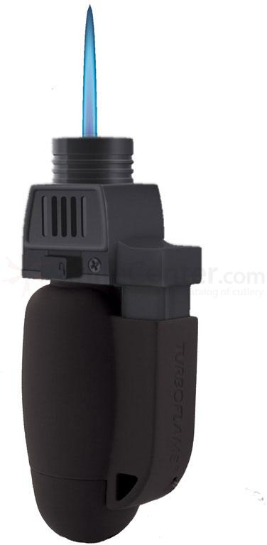Turboflame Military Windproof Lighter, Black